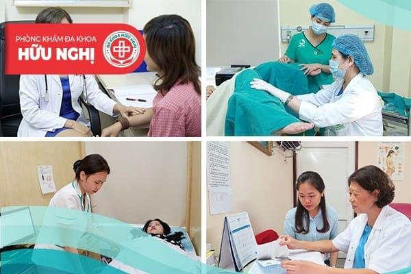 Phòng khám đa khoa Hữu Nghị - Địa chỉ chữa viêm nang buồng trứng uy tín, hiệu quả