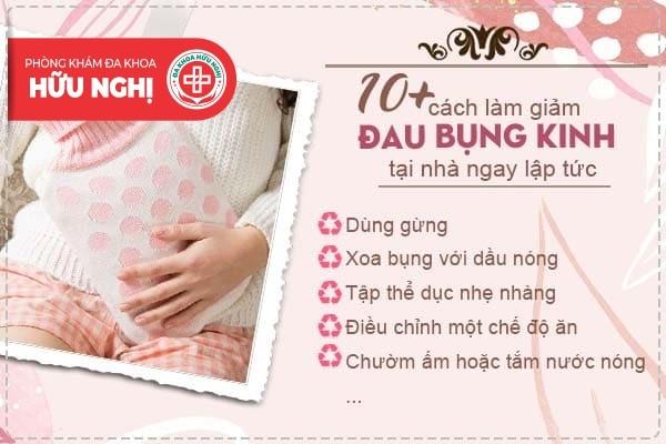 10+ cách làm giảm đau bụng kinh tại nhà ngay lập tức