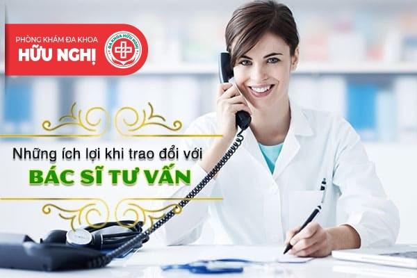 Bác sĩ tư vấn trực tuyến Phụ Khoa - Nam Khoa - Bệnh xã hội