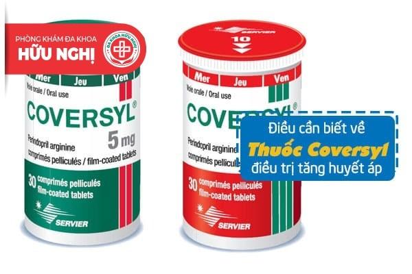 Khái quát các thông tin về thuốc coversyl