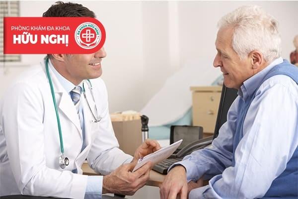 Khi có dấu hiệu bệnh cần đến gặp bác sĩ để trao đổi vấn đề ngay