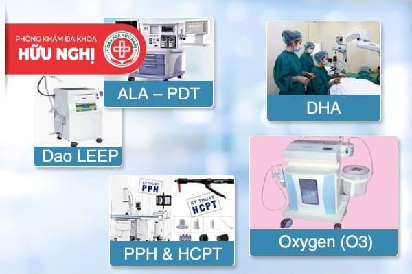 Phòng khám đa khoa Hữu Nghị Đà Nẵng điều trị bệnh bằng các phương pháp hiện đại